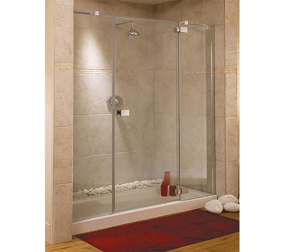 Lakes Italia Rimini Frame-less Right-Hand Hinged Shower Door 1600mm