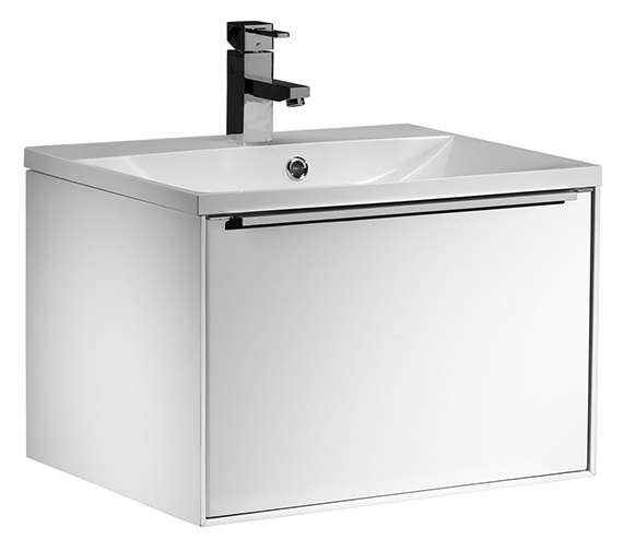 Roper Rhodes Vista 600mm White Wall Mounted Unit With Basin