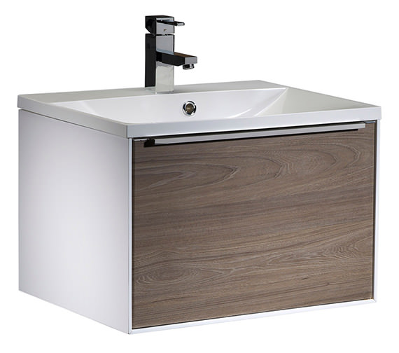 Additional image of Roper Rhodes Vista 600mm White Wall Mounted Unit With Basin