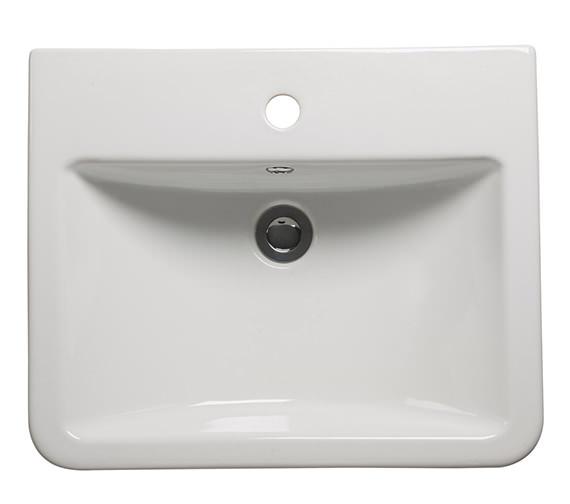 Alternate image of Roper Rhodes Hampton 600mm Vanilla Semi Countertop Unit With Basin