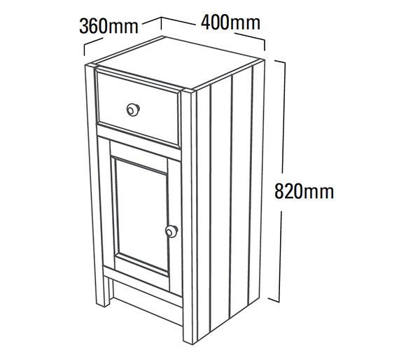 Technical drawing QS-V6752 / HAM400FC.W