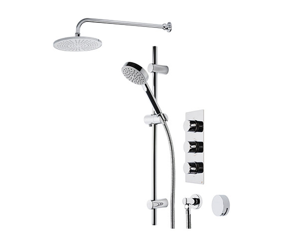 Roper Rhodes Event Triple Control Shower System 22 - SVSET22