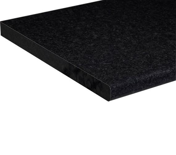 Roper Rhodes Laminate Black Granite 1500mm Worktop - F3W15.BG