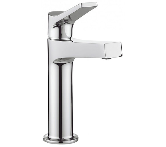 how to install a bathroom mirror crosswater acute monobloc basin mixer tap chrome ac110dnc 25410