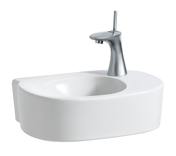Laufen Mimo 450 x 320mm Small Washbasin With No Tap Hole