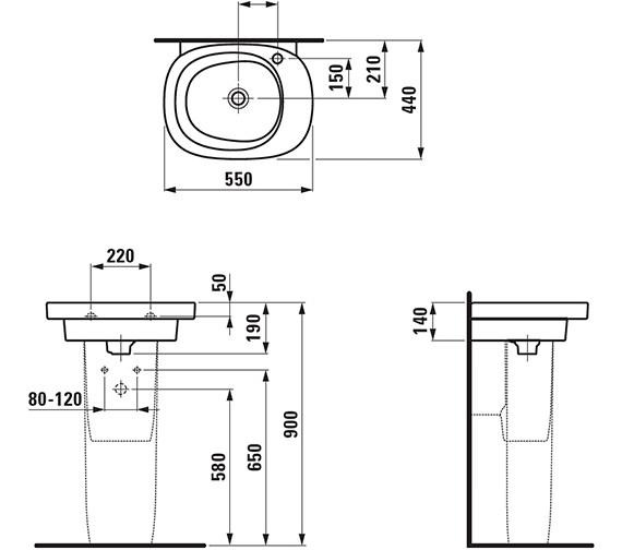 Technical drawing QS-V25496 / 8.1055.2.000.109.1