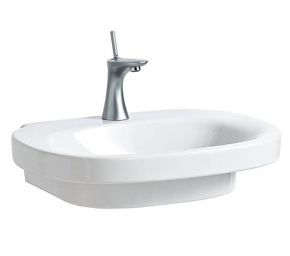 Laufen Mimo 650 x 440mm Washbasin Without Tap Hole