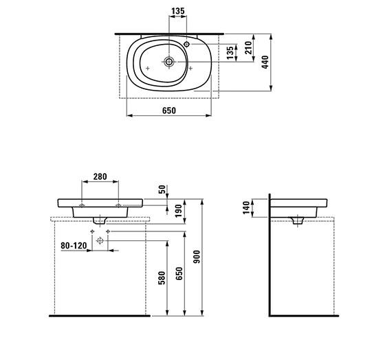 Technical drawing QS-V25503 / 8.1255.6.000.109.1