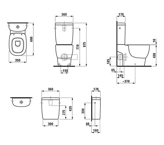 Technical drawing QS-V25506 / 8.2355.6.000.000.1