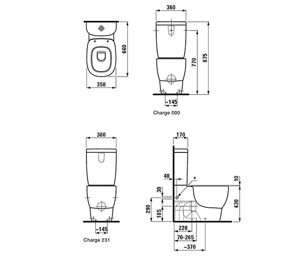 Technical drawing QS-V25507 / 8.2455.6.000.000.1