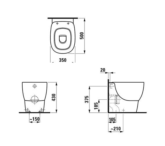 Technical drawing QS-V25509 / 8.2155.1.000.000.1