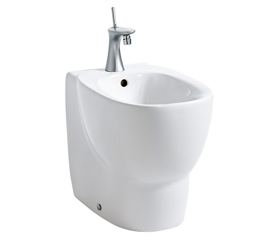 Laufen Mimo 1 Tap Hole Floorstanding Back To Wall Bidet 500mm