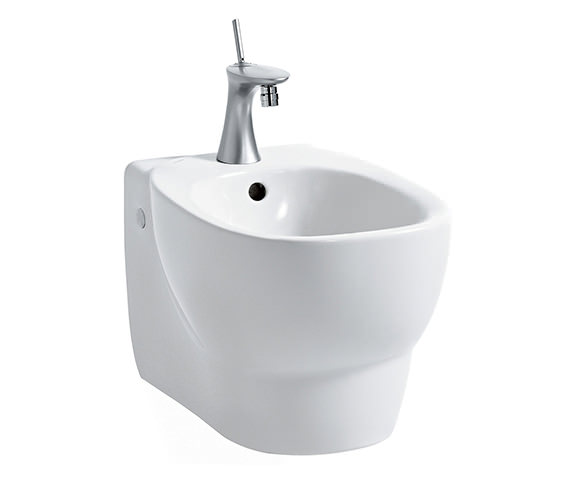 Laufen Mimo 1 Tap Hole Wall Hung Bidet 500mm