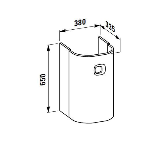 Technical drawing QS-V25518 / 4.3155.1.055.530.1