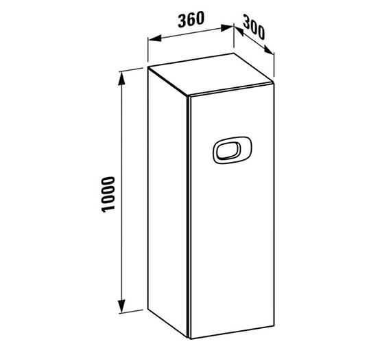 Technical drawing QS-V25540 / 4.6155.1.055.530.1