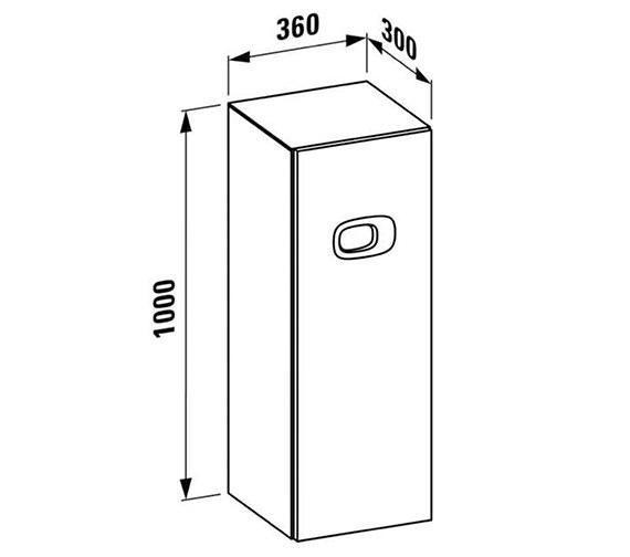 Technical drawing QS-V25545 / 4.6155.1.055.542.1