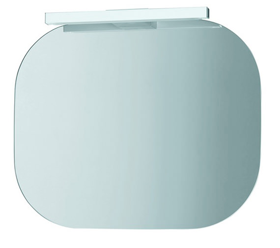 Laufen Mimo Mirror With Light 550 x 450mm - White