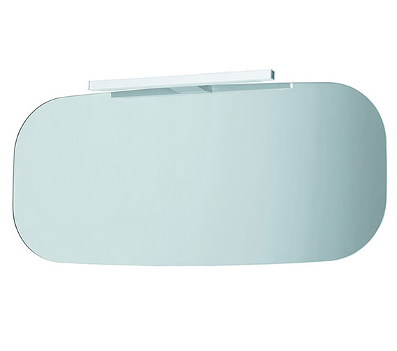 Laufen Mimo Mirror With Light 1000 x 450mm - Black