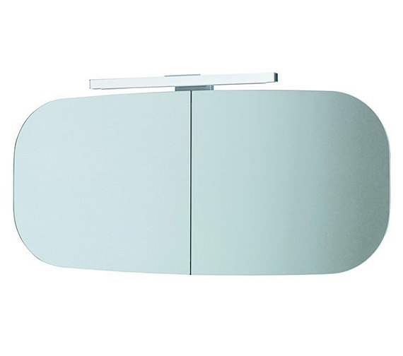 Laufen Mimo Mirror Cabinet With Lighting 1000 x 450mm - White