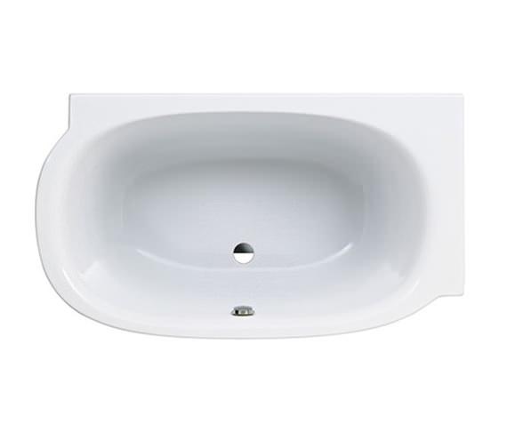 Laufen Mimo 1400 x 800mm Acrylic Bath Without Frame For Right Corner