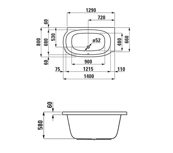 Technical drawing QS-V25566 / 2.2155.0.000.000.1