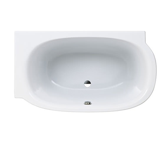 Laufen Mimo 1400 x 800mm Acrylic Bath Without Frame For Left Corner