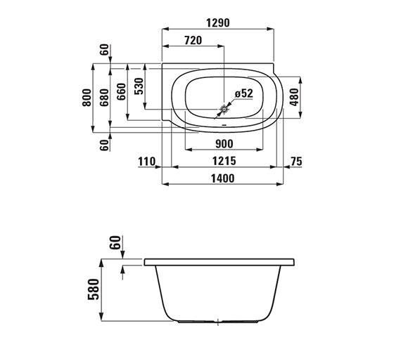 Technical drawing QS-V25567 / 2.2255.0.000.000.1