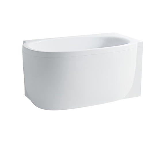 Laufen mimo 1400 x 800mm acrylic bath with panel for right for Small baths 1400