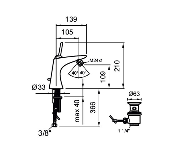 Technical drawing QS-V25573 / 3.4155.1.004.111.1