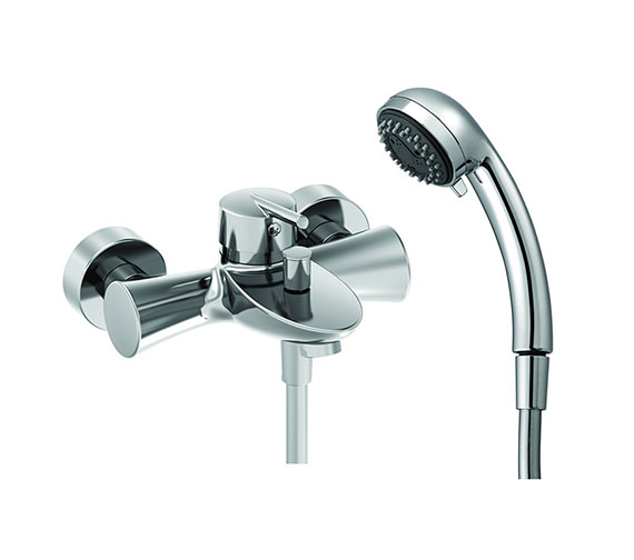 Laufen Mimo Single Lever Bath Shower Mixer Tap With Kit