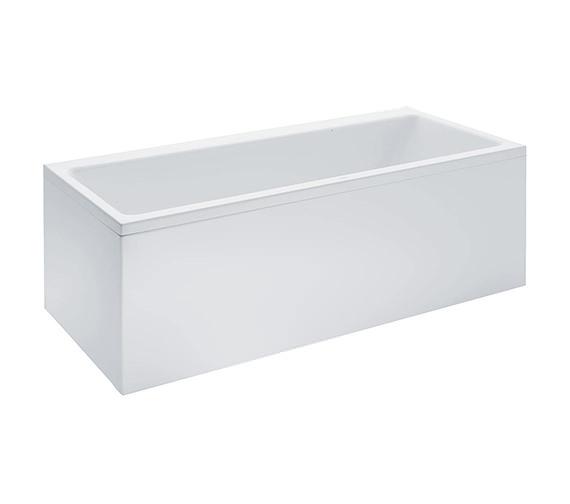 Laufen Pro 1700 x 700mm Rectangular Acrylic Bath With Panel