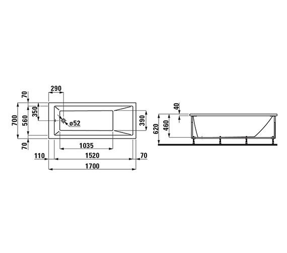 Technical drawing QS-V25585 / 2.3095.5.000.000.1