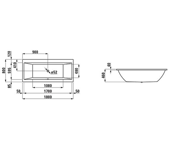 Technical drawing QS-V25588 / 2.3295.0.000.000.1