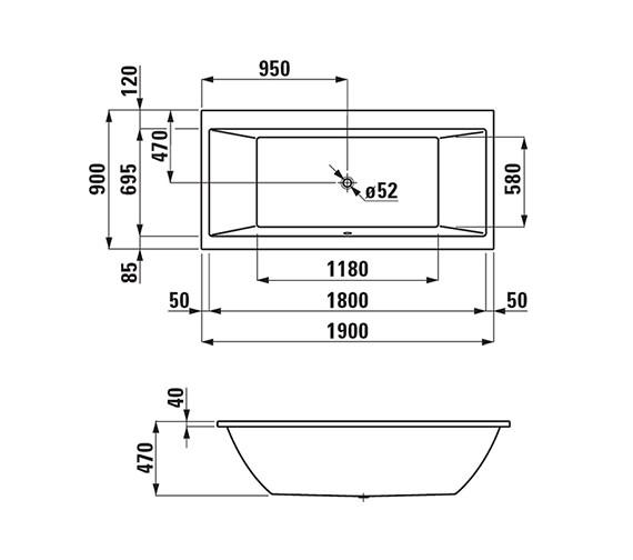 Technical drawing QS-V25590 / 2.3495.0.000.000.1