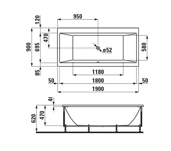 Technical drawing QS-V25591 / 2.3495.5.000.000.1