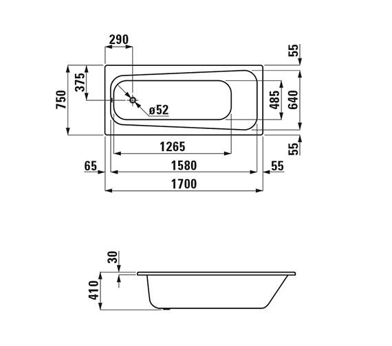 Technical drawing QS-V25592 / 2.2595.0.600.040.1