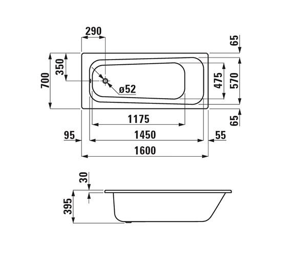 Technical drawing QS-V25594 / 2.2395.0.600.044.1