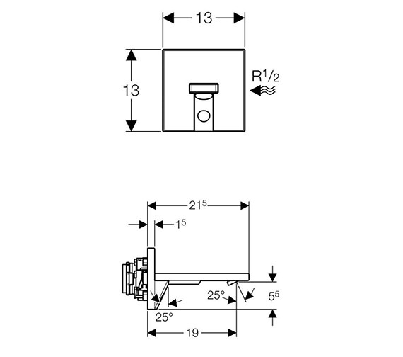 Technical drawing QS-V25625 / 116.108.21.1