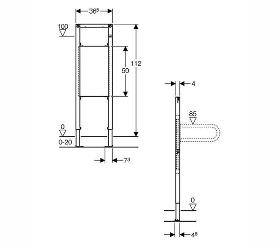 Technical drawing QS-V25693 / 111.790.00.1