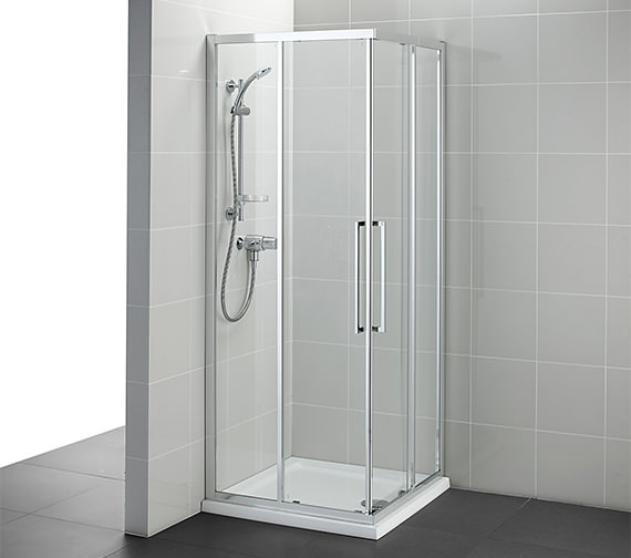 Ideal Standard Kubo 760mm Corner Entry Shower Enclosure - T7358EO