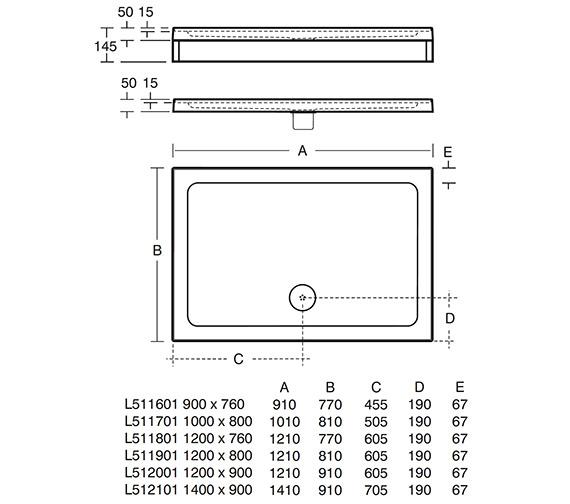 Technical drawing QS-V25863 / L511601