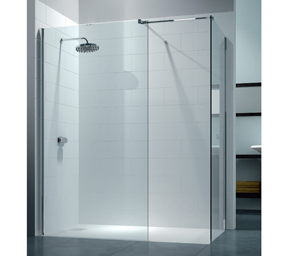 Merlyn 8 Series Walk In Enclosure With End Panel 1200 x 800mm