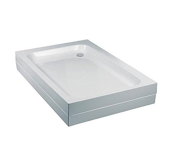 Just Trays JTMerlin Flat Top Rectangular Shower Tray 1500 x 760mm