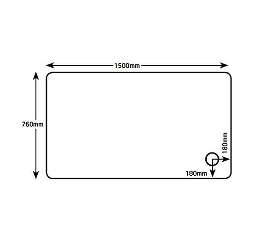 Technical drawing QS-V26218 / A1576M100