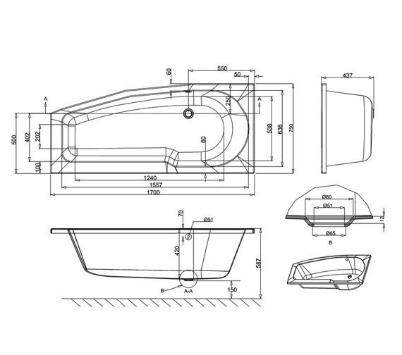 Technical drawing QS-V26296 / R15