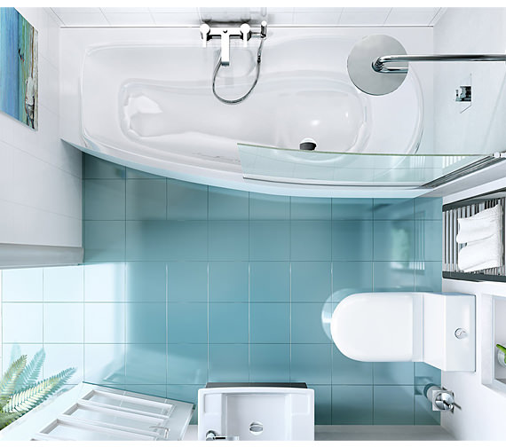 Cleargreen Ecocurve Bath 1700 x 750mm Left Hand