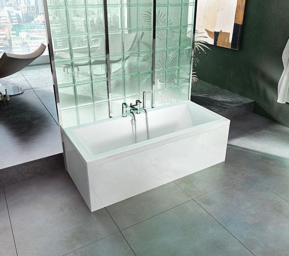 Cleargreen Enviro Rectangular Double Ended Bath 1700 x 700mm