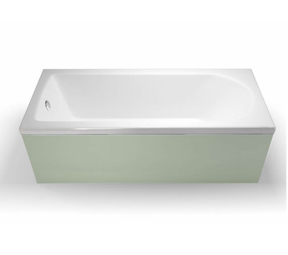 Cleargreen Reuse Rectangular Single Ended Bath 1600 x 700mm Round