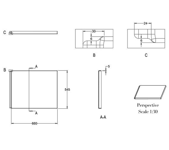 Technical drawing QS-V26323 / R27E
