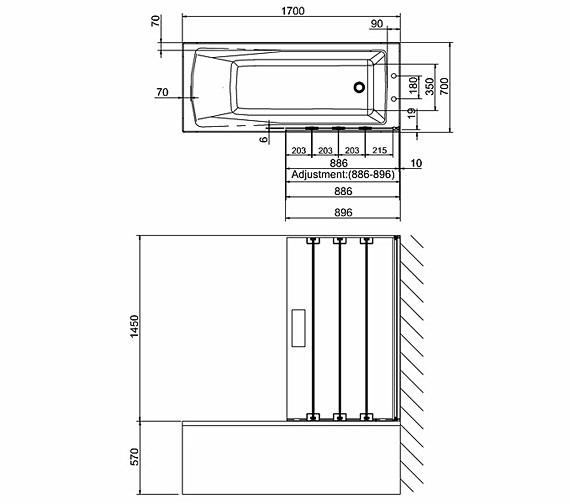 Technical drawing QS-V26332 / BS5R